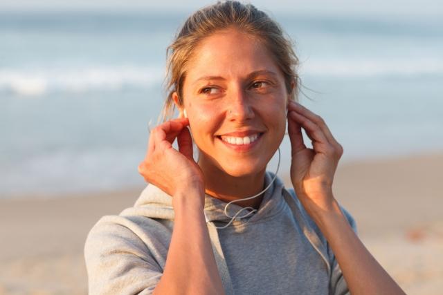 音楽を聴いてエクササイズを効率よく! | ボクシングフィットネスジム NOA