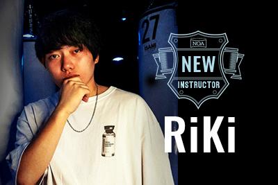 【NEW INSTRUCTOR】RiKi |CommingSoon...