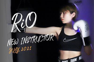 【7月スタート!NEW INSTRUCTOR】RiO|BA1 MIX